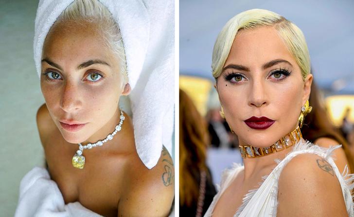 Famosas que mostraram sua beleza com e sem maquiagem