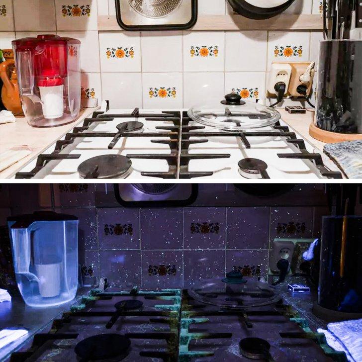 17 Fotos incríveis capturadas sob efeito da luz negra